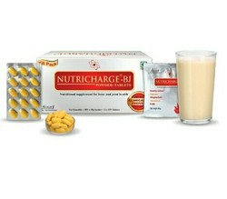 bone and joints Unisex Nutricharge Bj Clinically Proven, 30tablet And 30 Pouch
