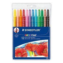 Staedtler Multi Color Noris Club Twistable Wax Crayon