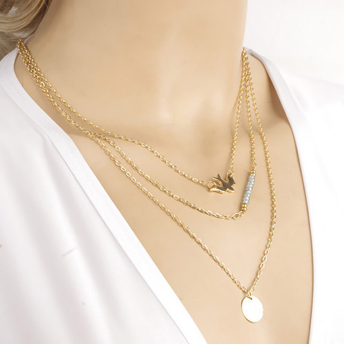 3 layer chain necklace chain necklace bt retailers pune id 3 layer chain necklace mozeypictures Gallery