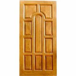 LN Doors Natural Teak Wood Panel Door for Home