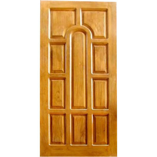 Ln Doors Natural Teak Wood Panel Door For Home Rs 7000