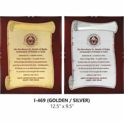 Certificate Wooden Trophies