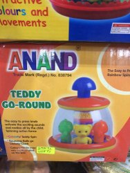 Teddy Go Round Toy