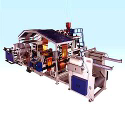 Twin Die Extrusion Lamination Machine