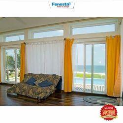 Closet Doors Fenesta UPVC Sliding Door, For Home, Exterior