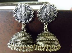 Oxidized Stylish Earring