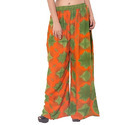 Orange And Green Tie Dye Palazzo