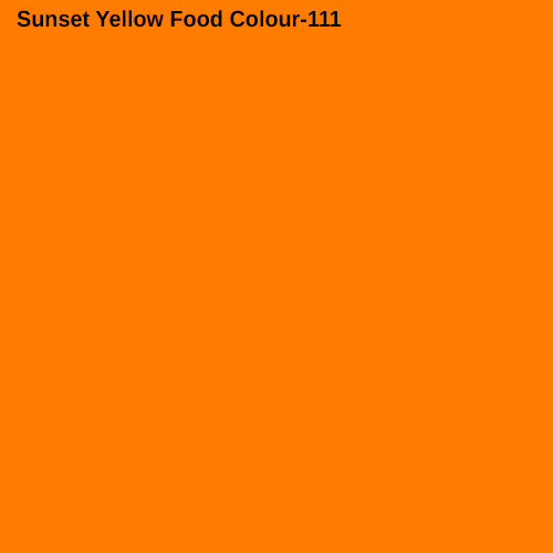 Sunset Yellow Food Colour