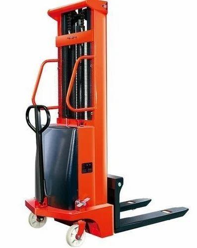 Semi Electric Stacker 1 5 Ton