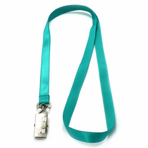 Green Lanyard Ribbon, Motifs, Badges, Emblems & Lanyards | Image
