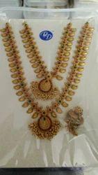 Wedding Set Matt Gold Jewelry