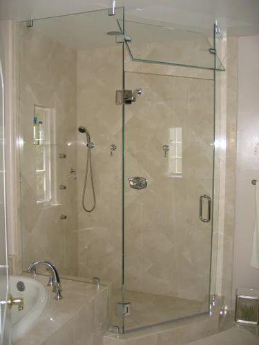 Shower Door Glass Bathroom G, Shower Glass Panel Cost India