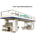 Cello Tape Making Machine