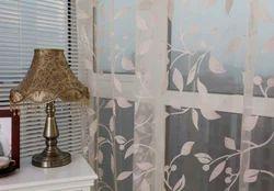 Rod Pocket Curtains (Burnout)