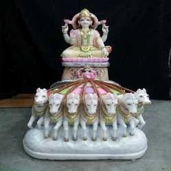 Suraj Marble Statue