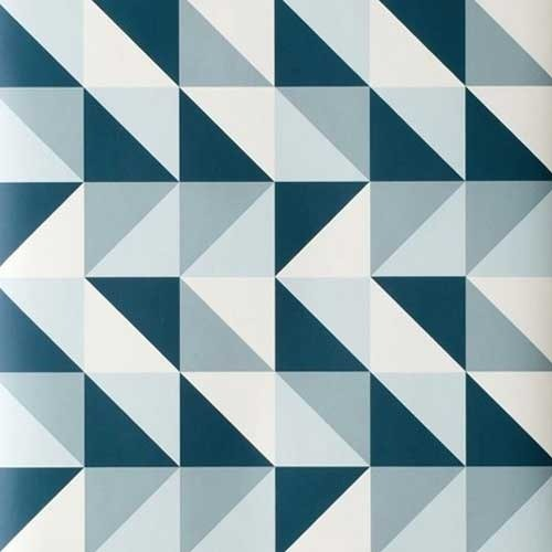 Geometric Wallpaper At Rs 40 Square Feet