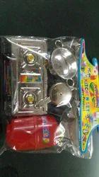 Kids Plastic Kitchen Set