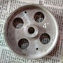 Cast Iron Trolley Wheels