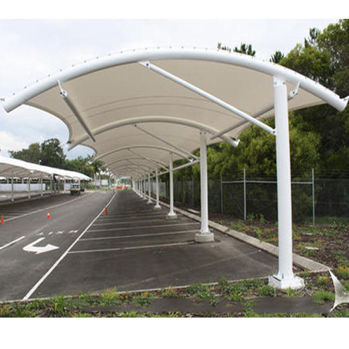 Tensile Car Parking Shed At Rs 360 Square Feet Green Park New