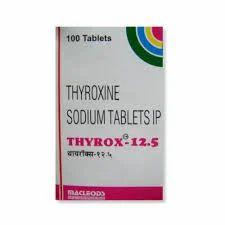 Thyrox 12.5 Tablet, For Clinical And Hospital