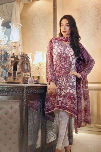 8fe1031c22 Designer Printed Satin Silk Salwar Kameez - Online Fashion Marts ...