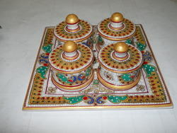 Marble Mukhwas Box Set