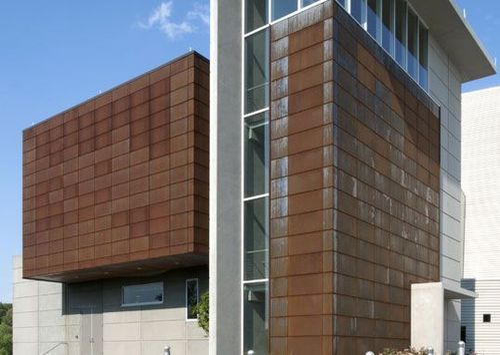 Exterior Facade Cladding At Rs 400 Square Feet Wall