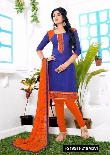 49626997df Simple Cotton Ladies Suit, Cotton Salwar Kameez, Cotton Suit, Cotton ...