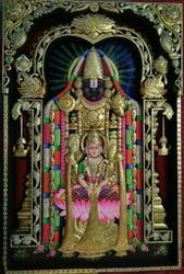 Tirupati Laxmi Painting