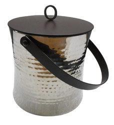 Double Wall Ice Bucket with Ring