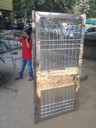 Stainless Steel Door Design Service In Kalkaji New Delhi Inferro