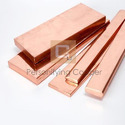 Personifying Copper Copper Flat Bars, Packaging Type: Wooden Box