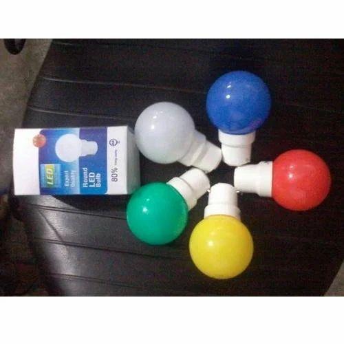 Colour 5 Watt Led Bulb Colour Led Bulb