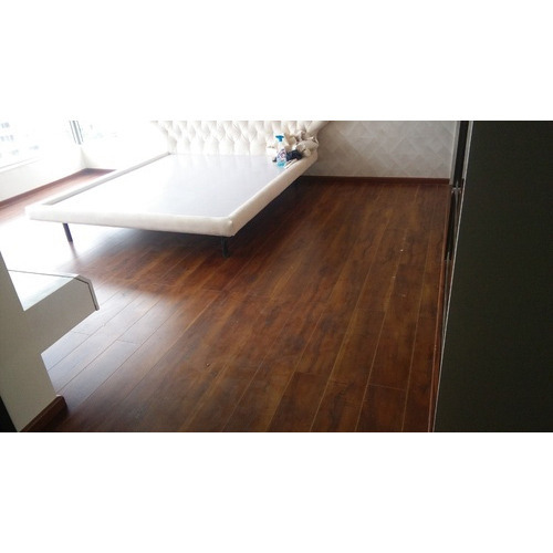 Commercial Vinyl Wooden Flooring Service At Rs 85 Square Feet