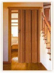 PVC Folding Door, for Residential/Commercial