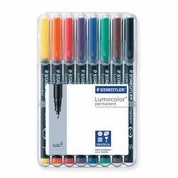Multicolor Staedtler Lumocolor Permanent Pen