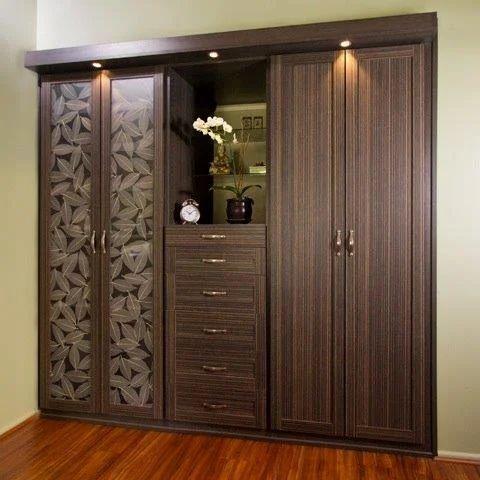 Multi Wood Wardrobe Plywoods Wadakkanchery Thrissur