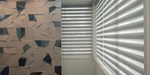 Polyster Zebra Blinds