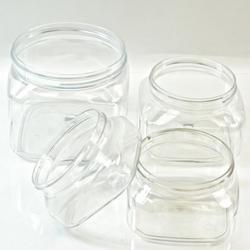 PET Square Jars