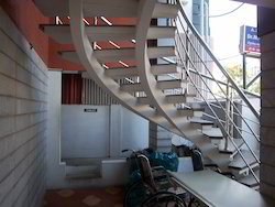 Designer MS Double Beam Staircases