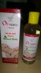 FORGO PHARMACEUTICALS Olivcare Ayurvedic Baby Oil, Packaging Size: 100ML