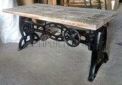 Beau Jodhpur Trends Wrough Cast Iron Furniture, Length:90 120 Cm