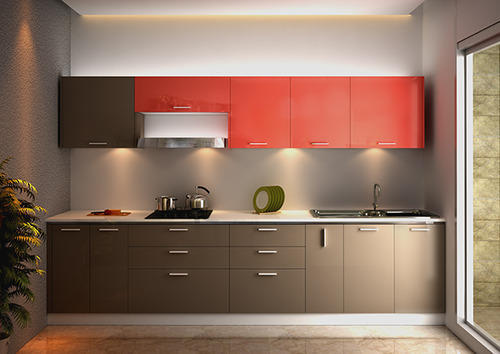 Straight Modular Kitchen Design