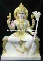 Marble Lalita Tripur Sundri Statue