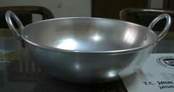 Stainless Small Aluminium Vessel