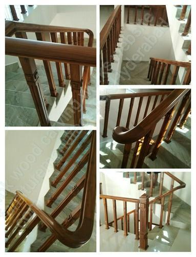 Wooden Railing Wooden Staircase Railings Manufacturer From
