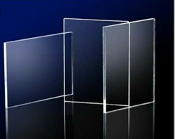 Rectangular And Square Madhav Enterprise Acrylic Sheets, Thickness: 5 mm - 10 mm