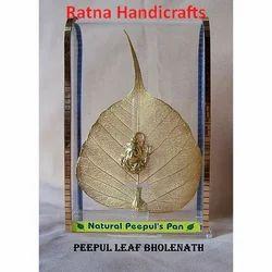 Gold Leaf Bholenath