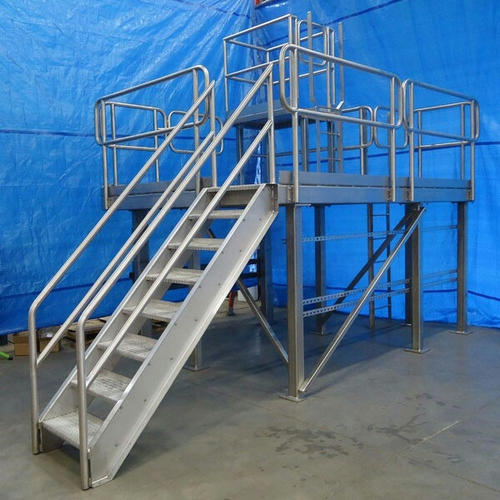 Read More. Fabricated Industrial Stairs