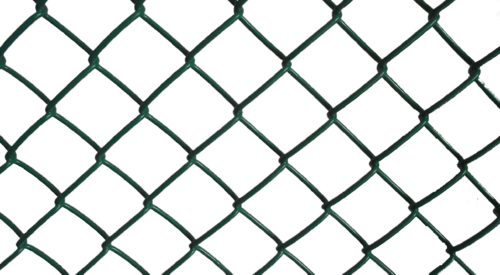 Green Vinyl Coated Chain Link Fence, Chain Link Fence - Shiva Udyog ...